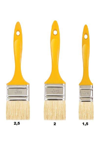 Libra 3'lü Boya Fırça Seti Kestirme Fırça Set