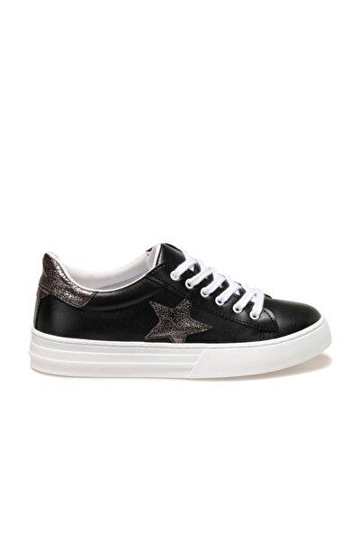 GİNEBRA Siyah Kadın Havuz Taban Sneaker 100666768