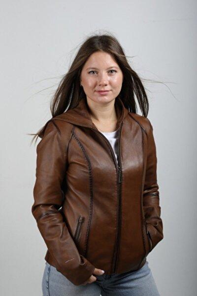 Kadın Kahverengi Ceket Eo-b1077