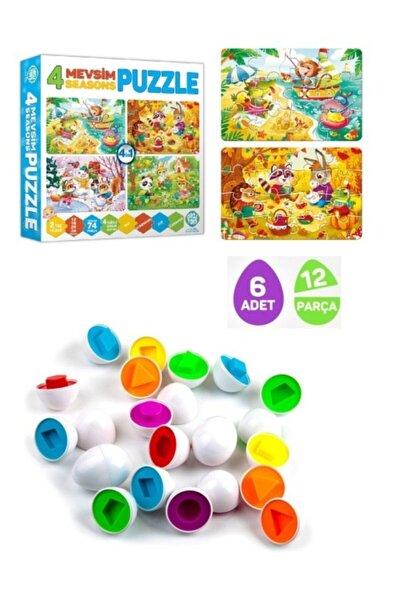 Circle Toys Baby 4 Mevsim Seasons Puzzle