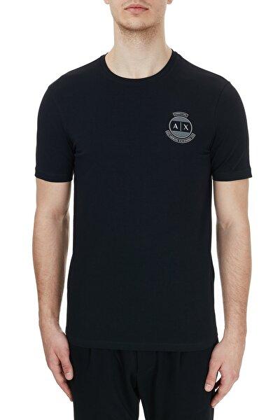 Erkek Siyah Pamuklu Baskılı Bisiklet Yaka T-shirt 6hztfl Zje6z 1200