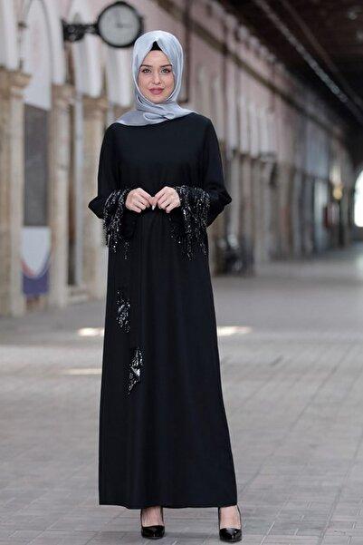 Kadın Siyah Duru Elbise