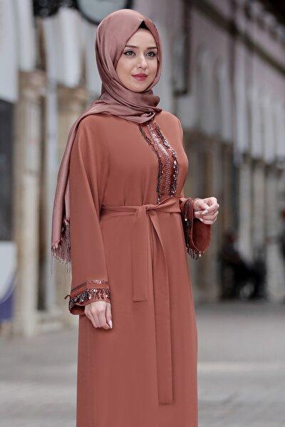 Kadın Taba Henna Elbise