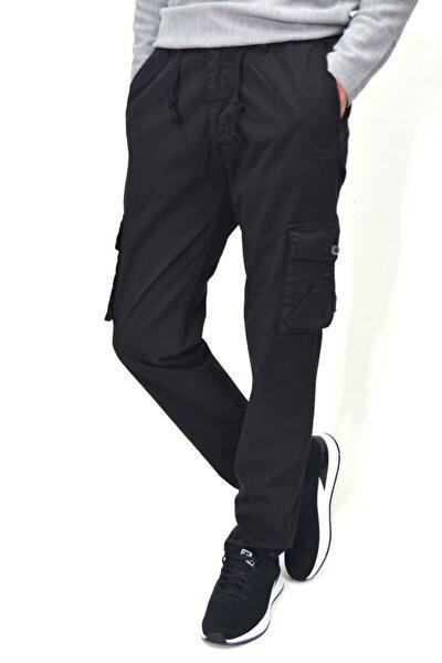 Erkek Beli Lastikli Likralı Kargo Cep Pantolon 20109