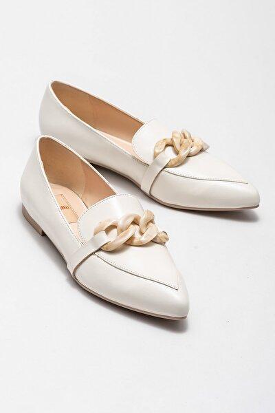 Kadın Chalsea Bej Casual Ayakkabı 20KDS50237