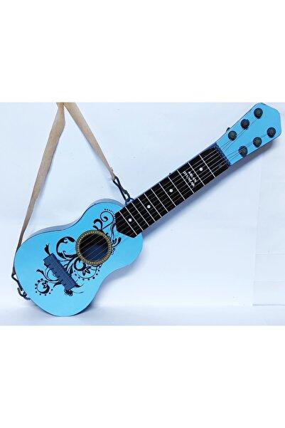 48 Cm. Boyunda Oyuncak Mavi Ispanyol Gitar