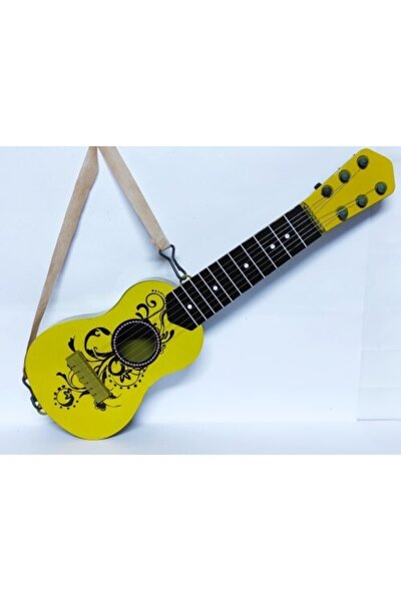 48 Cm. Boyunda Oyuncak Sarı Ispanyol Gitar