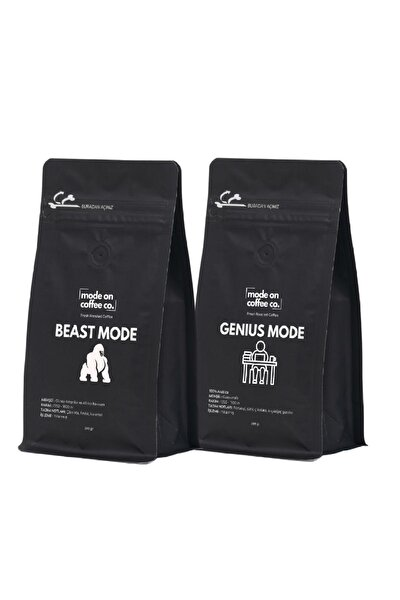 Beast Mode Genius Mode Filtre Kahve 2x200 gr