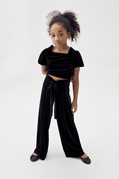 Kız Çocuk Siyah Pantolon 20FWTS0T309