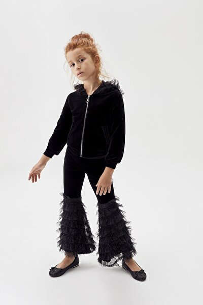 Kız Çocuk Siyah Pantolon 20FWTS0T307