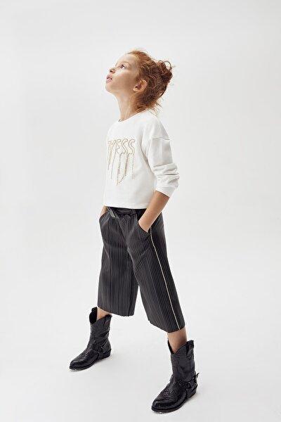 Kız Çocuk Siyah Pantolon 20FW0TJ4215