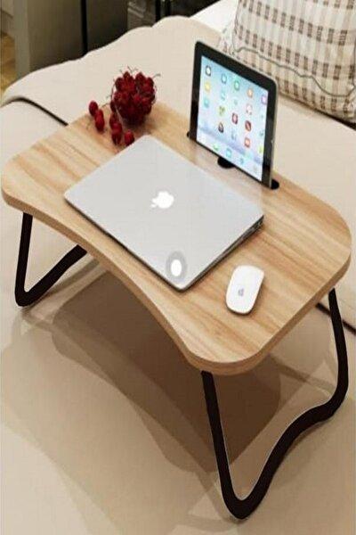 Kahvaltı Masası Katlanabilir Laptop Masası MDF 75x40x30  KE569132