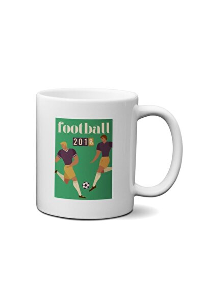 Football Retro Kupa Bardak