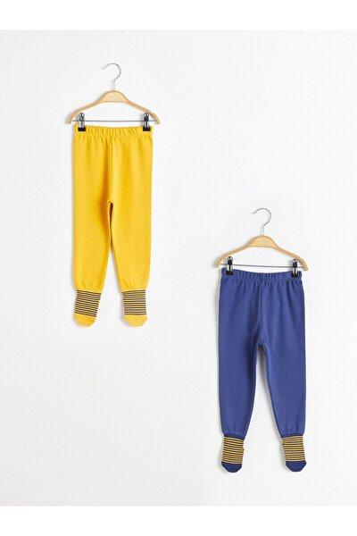 Erkek Bebek Sarı Pijama Alt