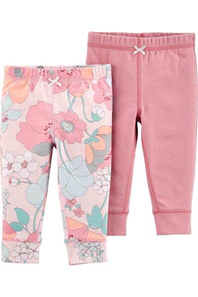 Kız Bebek Pembe Layette Pantolon 2'li