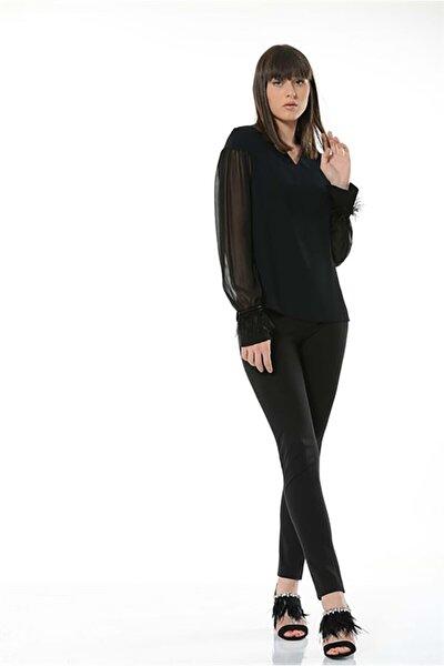 Kadın Siyah Dove Bluz