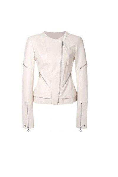 Kadın Beyaz Ceket