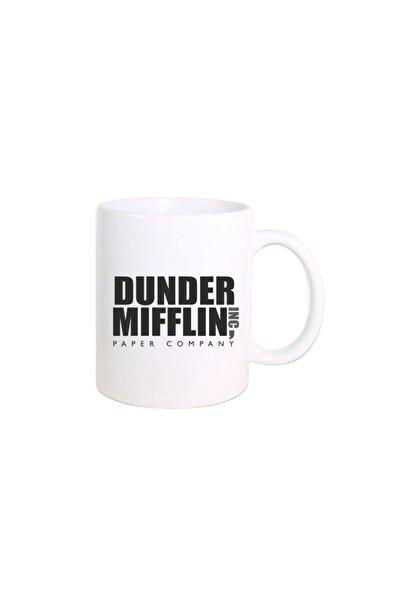 The Office Dizisi Dunder Mifflin Company Logo Baskılı Kupa Bardak