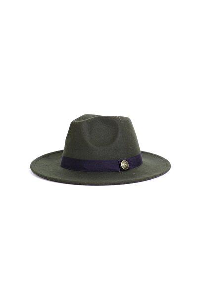 Unisex Yeşil Fötr Şapka