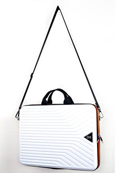 Unisex Beyaz 14 Inç Notebook- Laptop Çantası