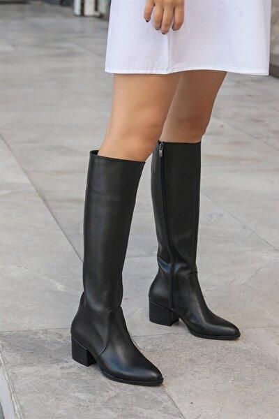 Kadın Lidya Siyah Çizme