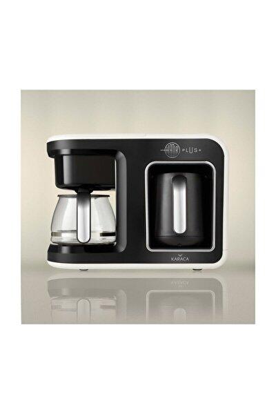 Hatır Plus 2 in 1 Kahve Makinesi Krem