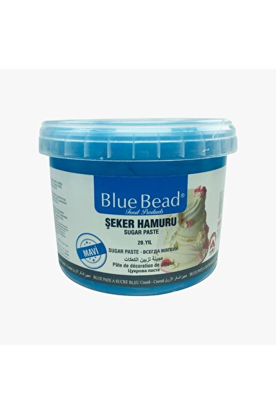 Mavi Şeker Hamuru 1 kg