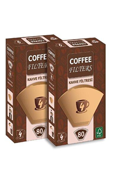 Coffee 2 Adet - 80 'li Filtre Kağıdı 1 X 4 Avantajlı Paket
