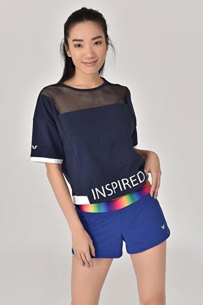 Lacivert Kadın T-Shirt GS-8080