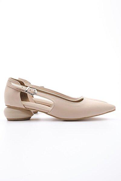 Bej Kadın Evoli Klasik Topuklu Ayakkabı 20Y00016BN702-1