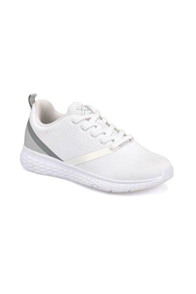 Deron W Kadın Beyaz-a.gri Spor Ayakkabı