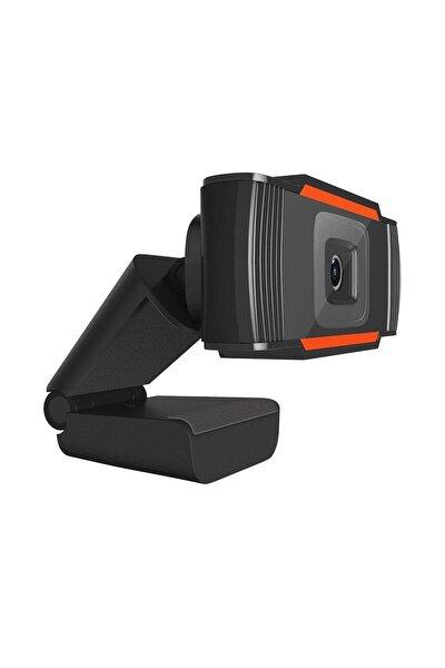 Siyah Mikrofonlu Hd Webcam Kamera 720p