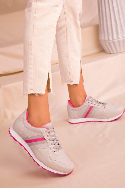 Kadın Buz-Fuşya Sneaker 15277