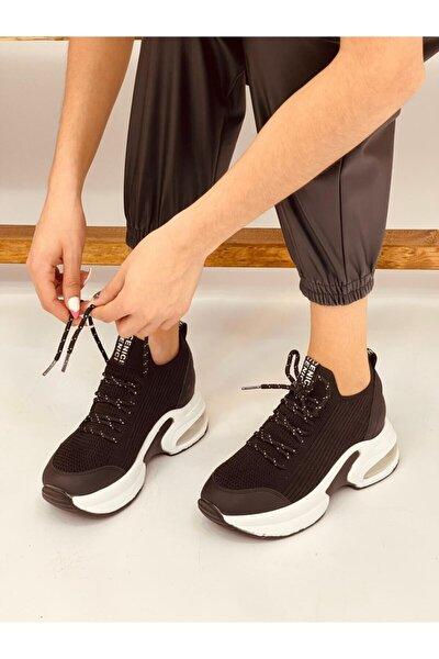 Siyah Triko (jack) Kadın Sneakers