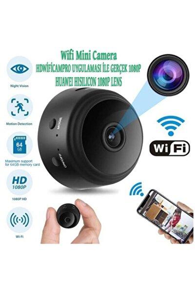 A9 Gerçek Full Hd 1080p Mini Wifi Kamera Gece Görüşlü Hareket Sensörlü