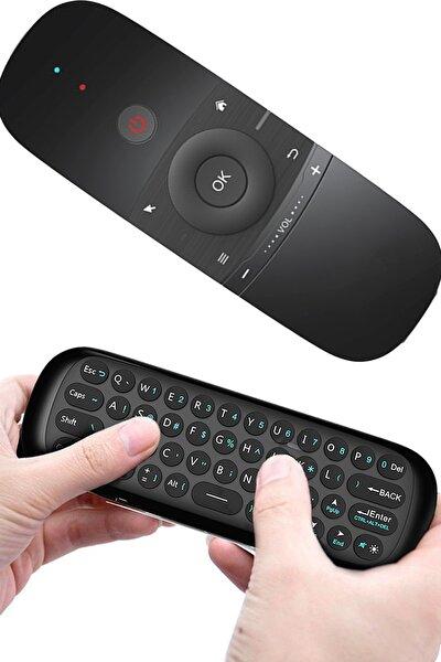 W1 Air Mouse 2.4g Kablosuz Mini Kumanda Klavye Pc Telefon Tv Box