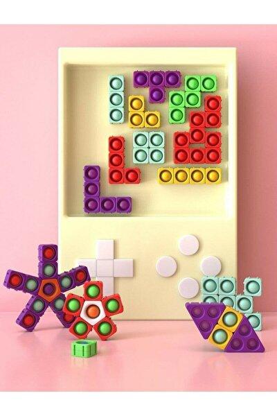 Pop It Puzzle Blocks Stres Oyuncak Puzzle Ve Yapboz 8 Parça