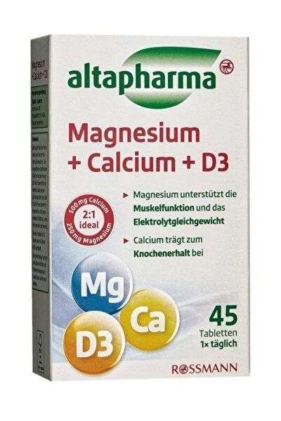 Magnezyum + Kalsiyum + D3