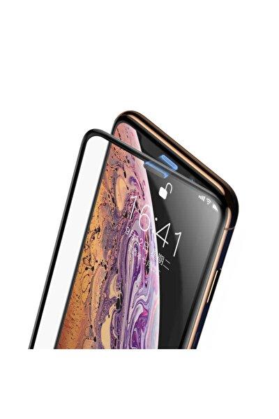 Iphone 12 Pro Uyumlu Ekran Koruyucu Kırılmaz Tam Ekran Ahize Toz Korumalı Temperli Cam