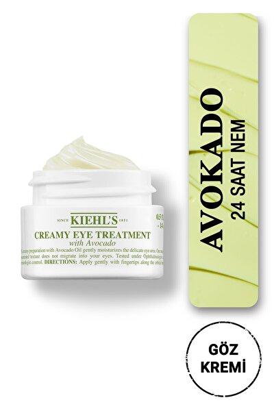 Creamy Eye Treatment Avokado Ile Yoğun Nemlendiren Göz Kremi 14 ml
