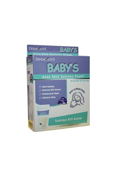 Baby's Anne Sütü Saklama Poşeti 20 Adet