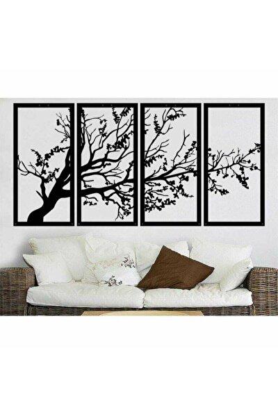 Son Bahar Siyah 4'lü Hayat Ağacı