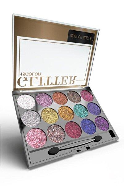 Glitter 15'li Simli Far Paleti 01