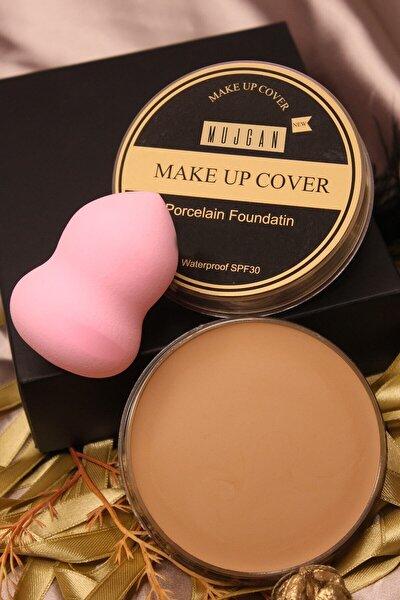 Makeup Cover Kapatıcı 211 (buğday Ten) + Tekli Armut Sünger Pembe Renk