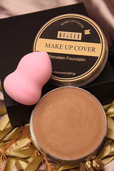 Makeup Cover Kapatıcı 212 ( Esmer Ten) Tekli Armut Sünger Pembe