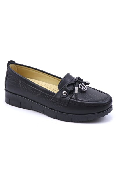 Ortopedik Rahat Syh Cilt Kadın Ayakkabı 215