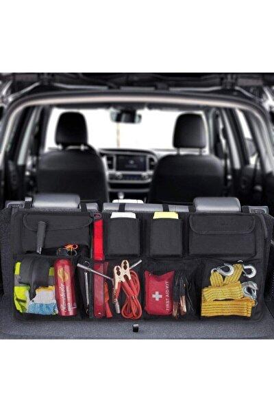 Araç Içi Bagaj Eşya Düzenleyici Oto Bagaj Organizer 8 Cepli Fileli