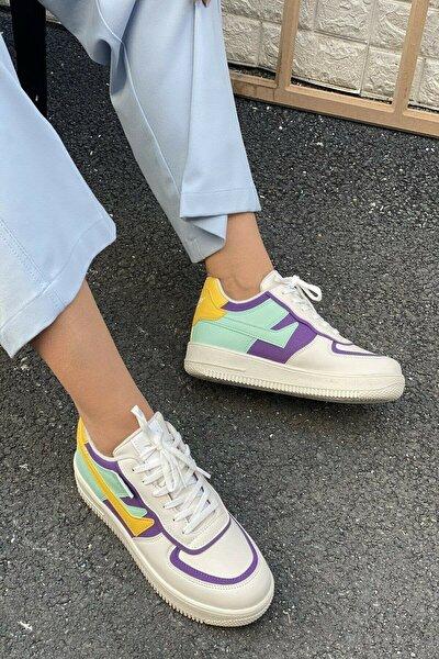 Kadın Bej Sneakers