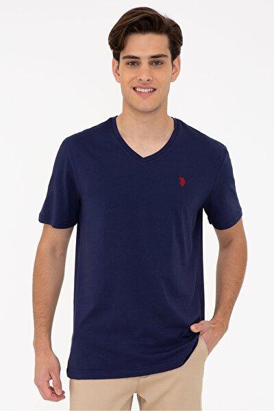 Erkek Lacivert  T-Shirt