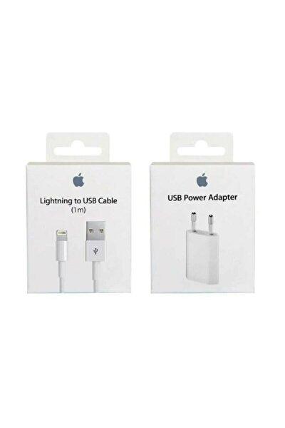 Iphone Uyumlu Şarj Aleti Cihazı Usb Kablosu Lightning Data Kablo